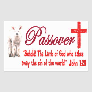 Passover Lamb Sticker