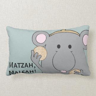 """Passover Lumbar Pillow """"Matzah, Matzah!"""""""
