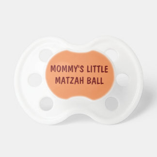 "PASSOVER PACIFIER ""MOMMY'S LITTLE MATZA BALL"""