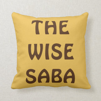 "PASSOVER PESACH PILLOW FOR GRANDPA ""THE WISE SABA"""