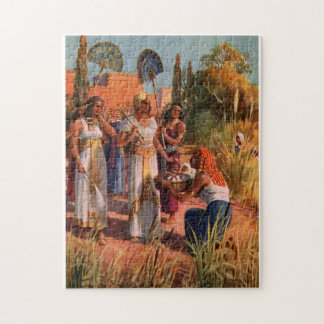 PASSOVER PUZZLE MOSES AS A BABY