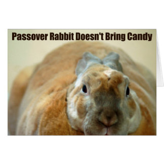 Passover Rabbit doesn't Pass Over Card