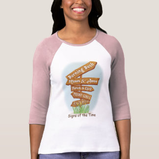 "Passover ""Signs of the Time "" Women's Raglan Shirt"