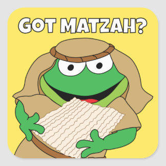 """Passover Stickers Buy 1 1/2"""" and/or 3"""" square"""