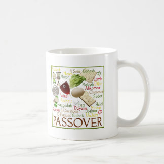 Passover Symbols Coffee Mug