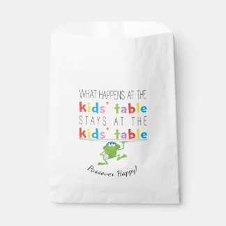 """Passover """"The Kids'Table"""" Goodie Favor Bag"""