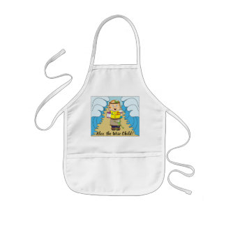 """Passover """"The Wise Child"""" Kid's Apron"""