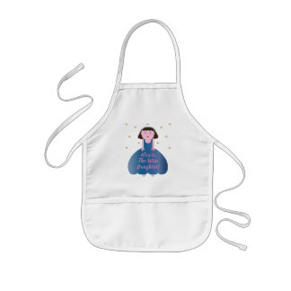 """Passover """"The Wise Daughter"""" Kid's Apron"""
