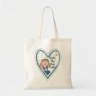 """Passover Tote Bag """"The Wise Child"""""""