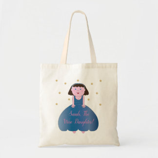 """Passover Tote Bag """"The Wise Daughter"""""""