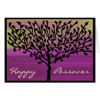 Passover Tree Card