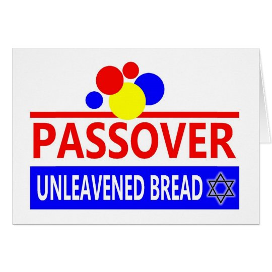 Passover Unleavened Bread Card