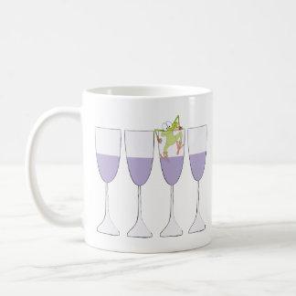 """Passover """"Wine and Frog"""" 11 oz Coffee Mug"""