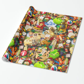 """Passover  Wrapping Paper, 30"""" x 6' Wrapping Paper"""