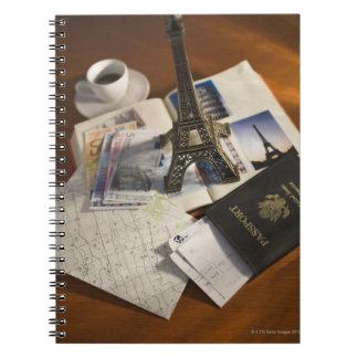Passport and memorabilia notebook