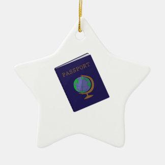 Passport Ceramic Ornament