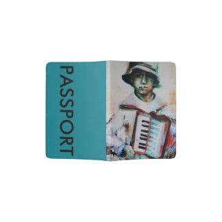 Passport holder 'Accordion'