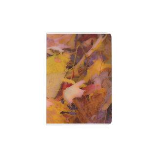 Passport holder fall leaves