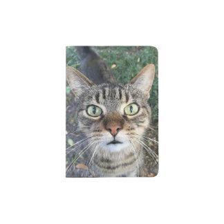 "Passport Holder """"Hey You"" says the cat"