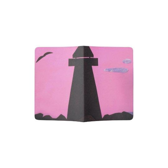 Passport Holder with Lighthouse Design