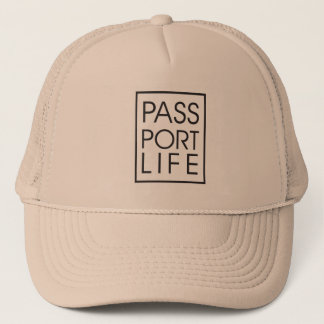 Passport Life Luggage Hat