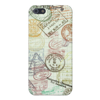 Passport Stamps iPhone 5 Case