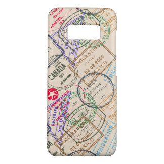 Passport Stamps Travel Case-Mate Samsung Galaxy S8 Case