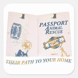 Passport Sticker