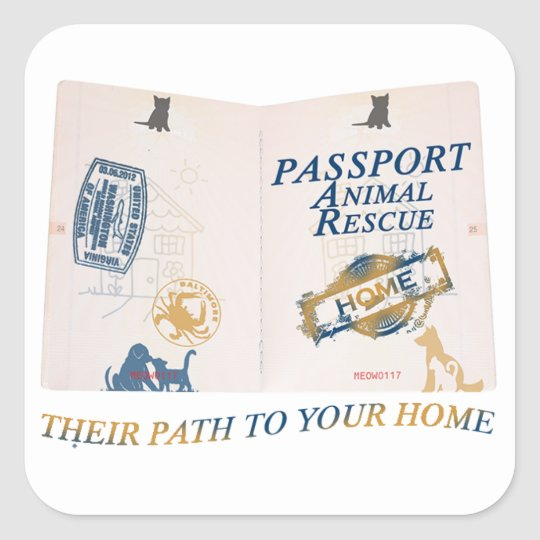 Passport Sticker