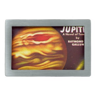 Passport to Jupiter Rectangular Belt Buckle