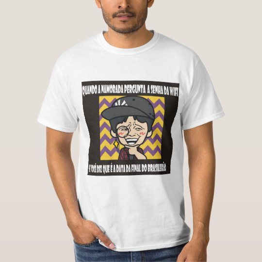 Password of wifi says me it T-Shirt