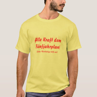 Password T-shirt GDR