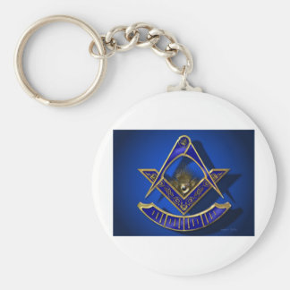Past Master Products Basic Round Button Keychain