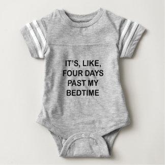 Past My Bedtime Baby Bodysuit