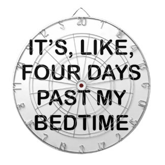 Past My Bedtime Dartboard
