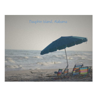 Past The Prime, Dauphin Island, Alabama Postcard