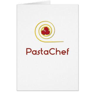 Pasta Chef Card