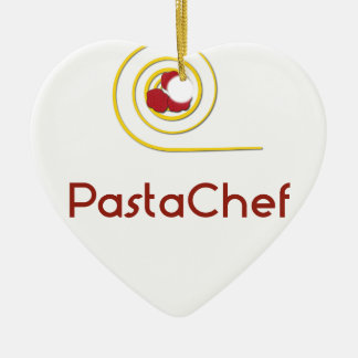 Pasta Chef Ceramic Ornament