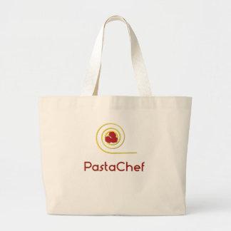 Pasta Chef Large Tote Bag