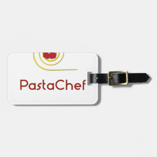 Pasta Chef Luggage Tag