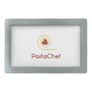 Pasta Chef Rectangular Belt Buckle