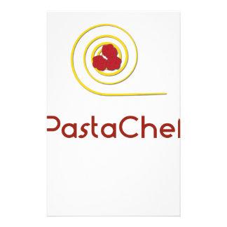 Pasta Chef Stationery