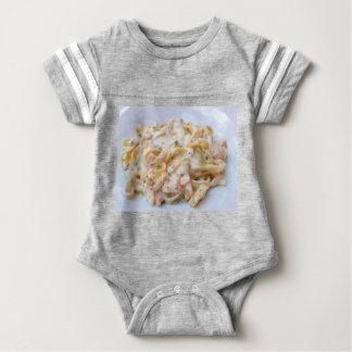 Pasta Custom Food Photo Baby Bodysuit