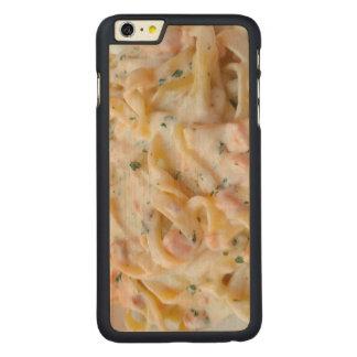 Pasta Custom Food Photo Carved Maple iPhone 6 Plus Case