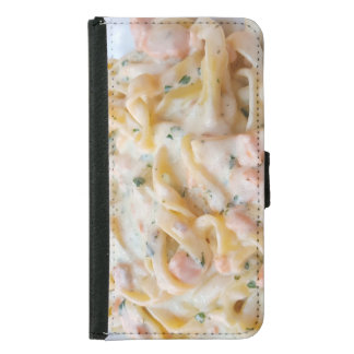 Pasta Custom Food Photo Samsung Galaxy S5 Wallet Case