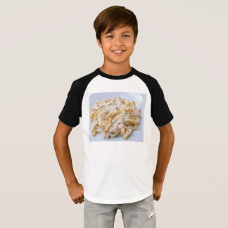 Pasta Custom Food Photo T-Shirt