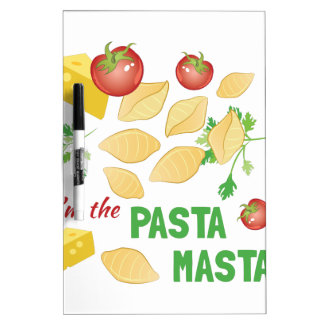 Pasta Masta Dry Erase Board