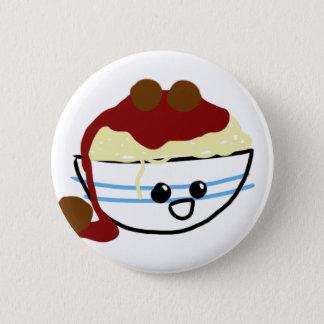 Pasta & Meatballs 2 Inch Round Button