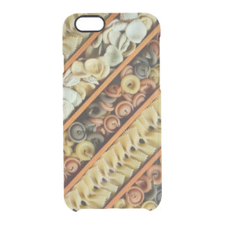 pasta noodles photograph clear iPhone 6/6S case