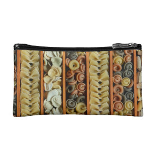 pasta noodles photograph cosmetic bag